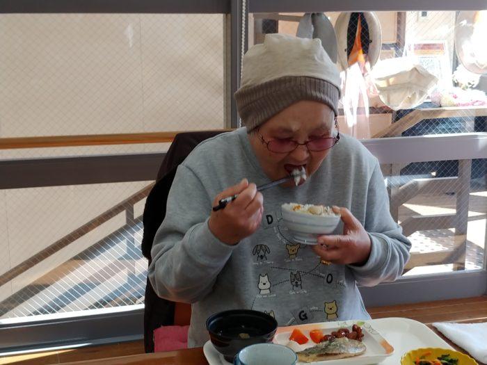 山本様と芋ご飯