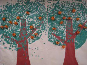 柿の木出現