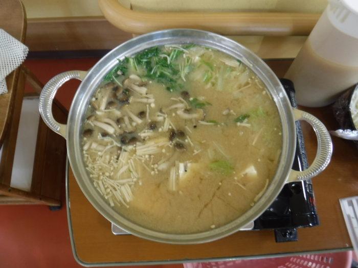 特養 みそ鍋 食レク