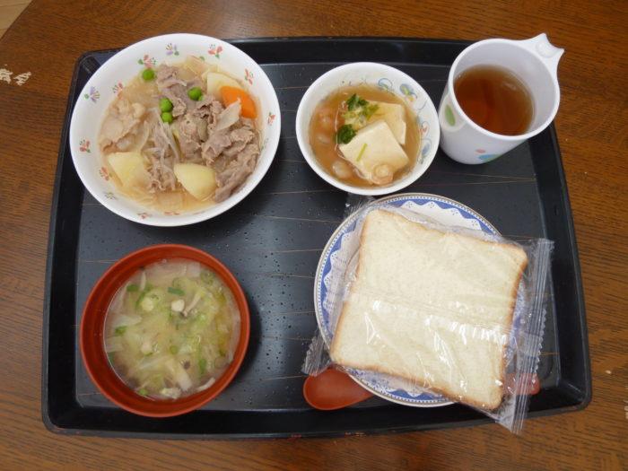 特別養護老人ホームアーバンケア御厨 食事形態 普通 食パン付き