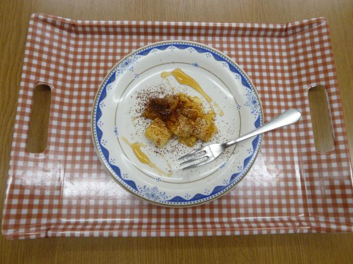 アーバンケア御厨 ホームクッキング 麩レンチトースト 美味しい バターの良い香り