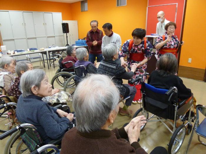 特別養護老人ホームアーバンケア御厨 すずらん会 地域のボランティア 交流イベント
