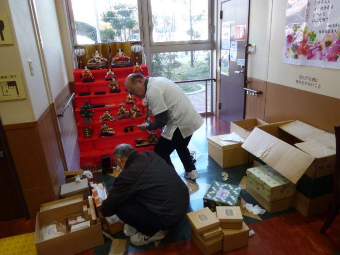 アーバンケア御厨 雛人形の準備 高齢者向け3月の行事