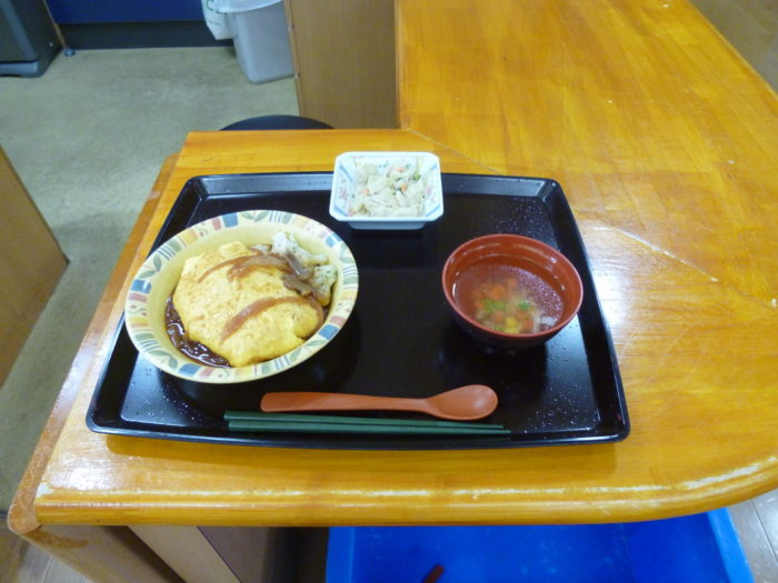 ある日の昼食です。