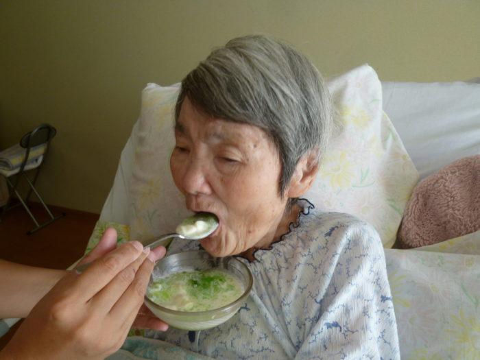 食べるクリームソーダ 食べるおやつレク