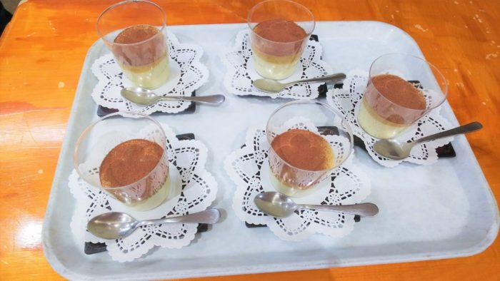 11月おやつレク さつま芋のムース ミキサー食も食べれるおやつ 特養のおやつ