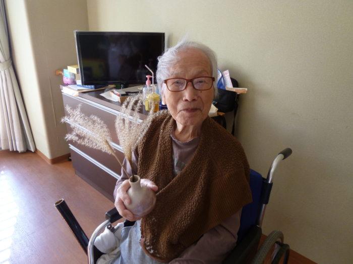 東大阪市 特養 施設での過ごし方 高齢者施設 楽しみ 秋の花