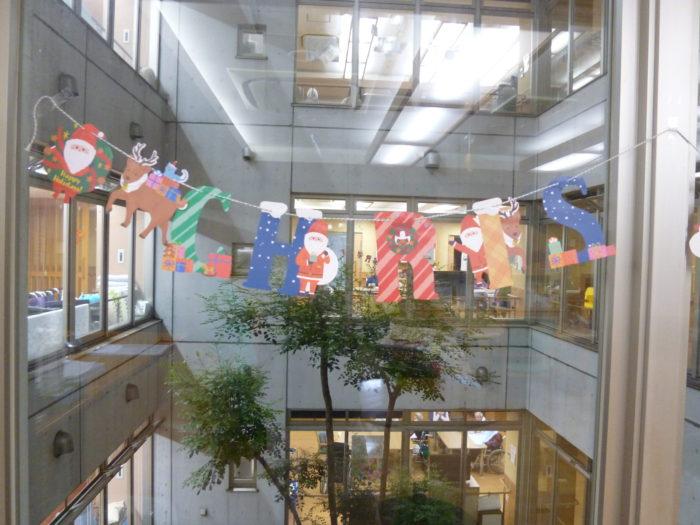 東大阪 特養 施設のクリスマス 飾りつけ 12月の過ごし方