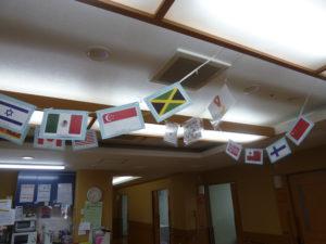 東京オリンピック 国旗ガーランド