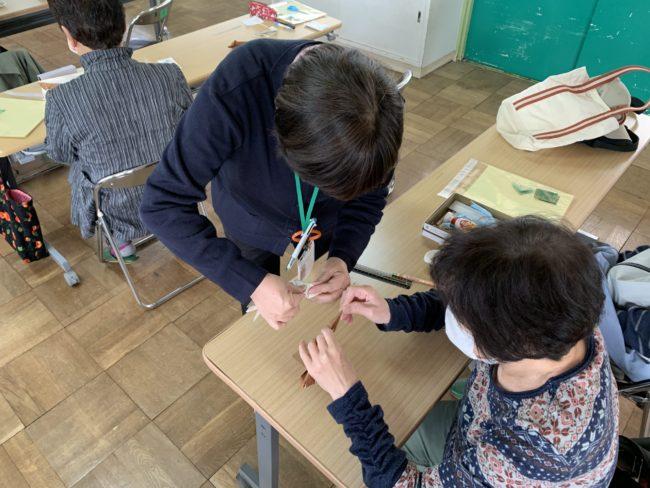介護予防教室 折り紙教室