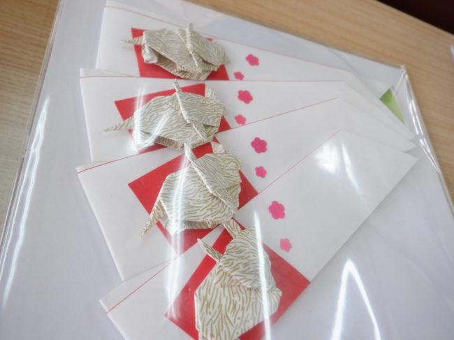 折り紙教室 祝箸袋